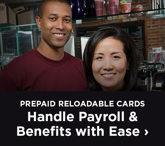 prepaid reloadable cards