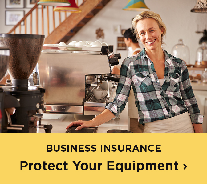 Business insurance - protect your equiptment