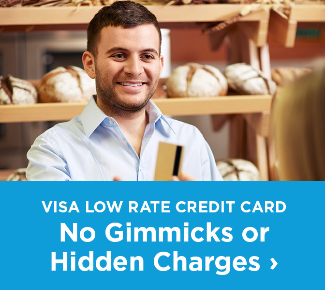 Visa Low Rate Credit Card No Gimmicks or Hidden charges